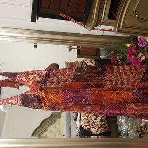 Tribal print dress